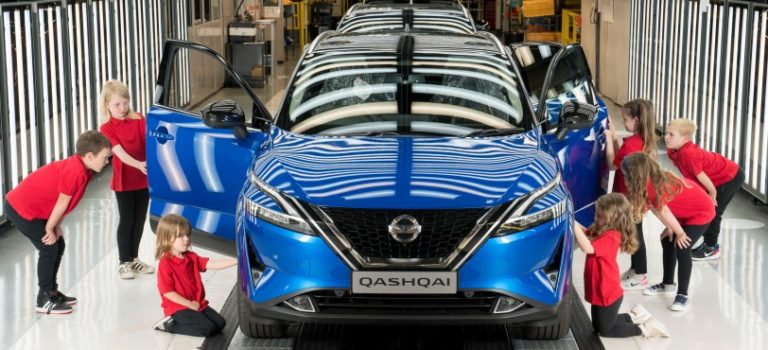 Nissan starts production of new Qashqai in Sunderland and offers skills experience to every schoolchild in North East England