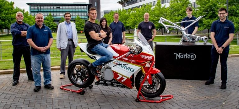 Norton Motorcycles Supports Student Electric Motorcycle Research With University Of Warwick